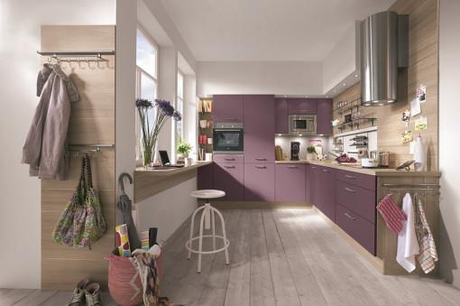 Küchenstudio Lahr, Trendkücho Design, Flieder Küche Trend Stilvoll