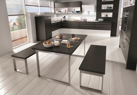 moderne Küche, Küche Design, Trendküche Farbgestaltung harmonisch